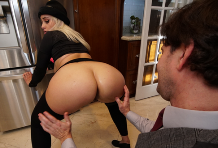 Indica Monroe - Horny Thief Gets Fucked ( monstersofcock )