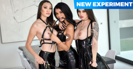 Harley Haze, Maddy May, Madi Laine, Michael Swayze - It's a Woman's World ( teamskeet )