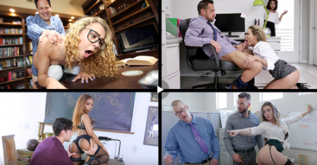 Kenzie Madison, Luna Rival, Isabella Nice, Alexa Grace, Johnny Castle - Working Babes ( teamskeet )