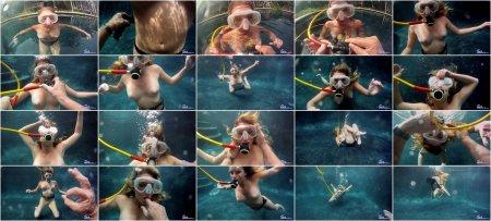 Sarah Jackson - Scuba Training ( sexunderwater )