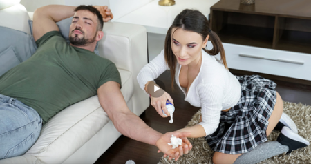 Lana Roy, Maximo Garcia - Tiny Prankster Gets What She Deserves ( teamskeet)