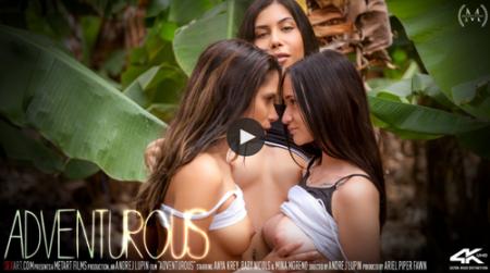 Anya Krey, Baby Nicols, Mina Moreno - Adventurous ( metartvip )