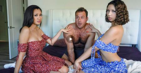 Kimora Quin, Madi Laine, Chad White - We Cum Together ( teamskeet )