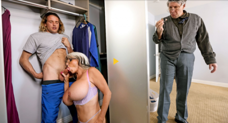 Tyler Nixon, Sally D'Angelo - Sneaky Grandma ( brazzers )