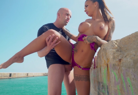 Susy Gala - Orgasms On The Beach ( monstersofcock )