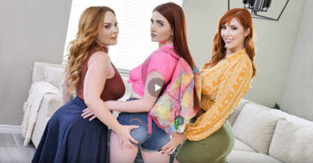 Aria Carson, Summer Hart, Lauren Phillips - The Consequences of Dressing Like A Slut ( teamskeet )